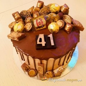 Мужской торт в подарок