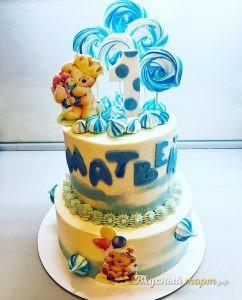 Торт для малыша, 1 годик, 5 кг