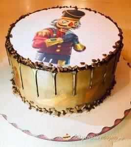 Торт для мальчика «Fortnite»
