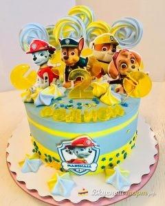 Торт для детей — «Щенячий патруль»