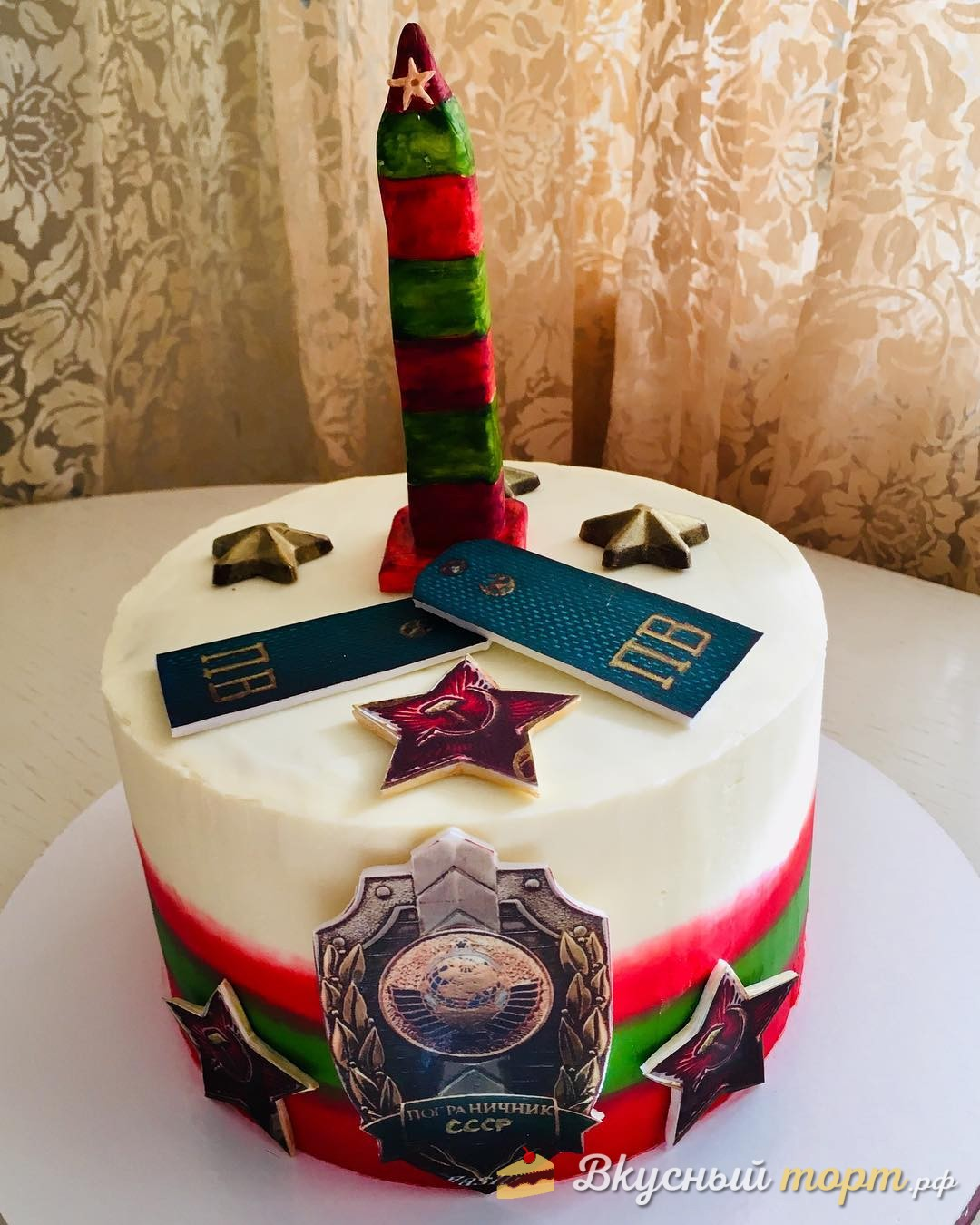 Торт для пограничника